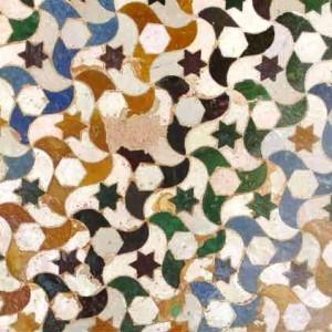 Орнамент цоколя Альгамбра