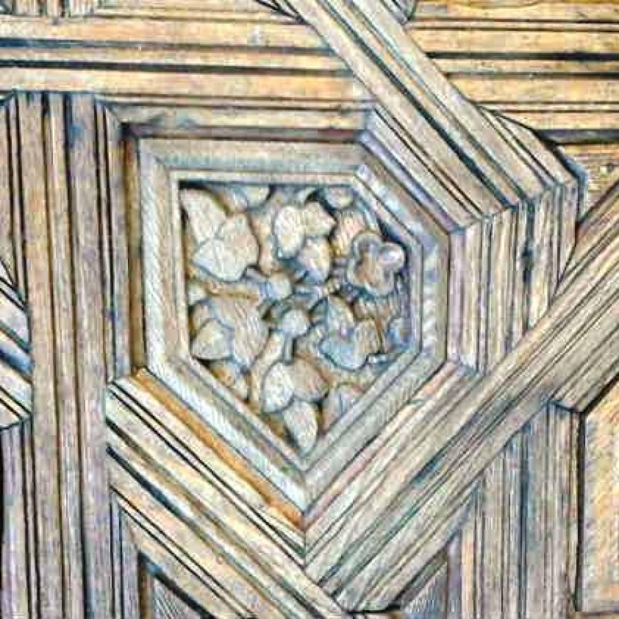 Элемент резьбы по дереву. Альгамбра