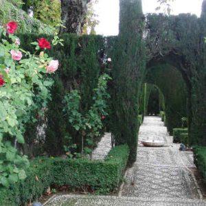 сады хенералифе альгамбра