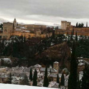 Зима в Гранаде