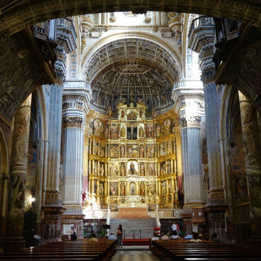Монастырь святого Иеронимо в Гранаде