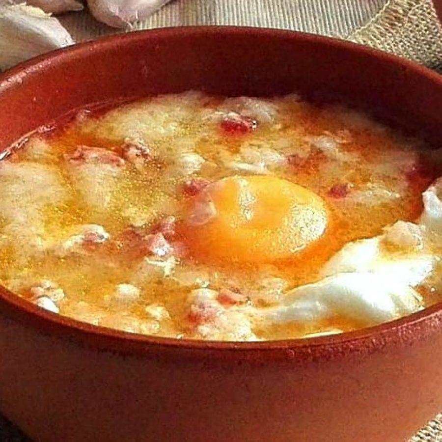 Чесночный суп (кастильский)