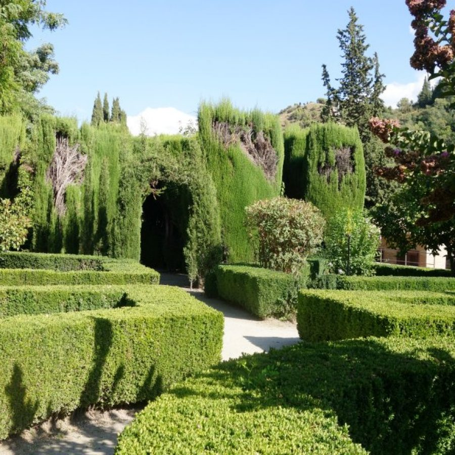 сады в Доме Чапис, Гранада