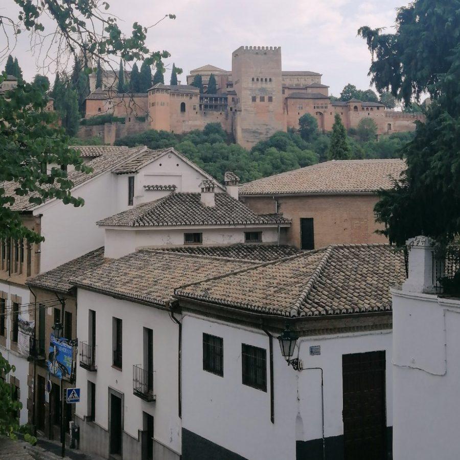 Виды из Дома Чапис, Гранада