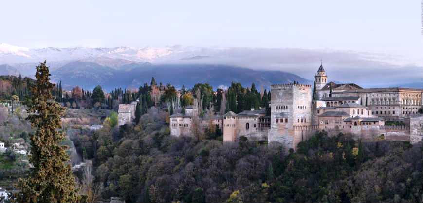 Альгамбра. Вид с Альбайсина