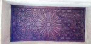 Деревянное покрытие свода алькова