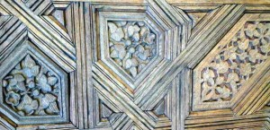 Покрытие свода из дерева. Альгамбра