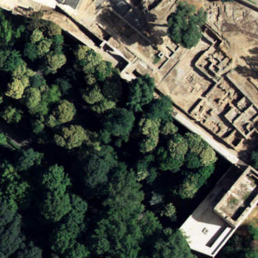 Расположение дворца Абенсерахов на Альгамбре