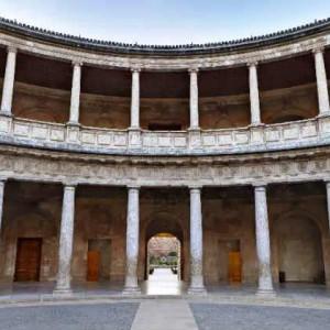 Дворец Карлоса V Альгамбра. Гранада