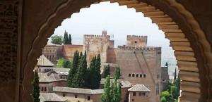 Виды на Альгамбру