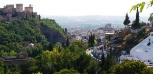 Виды на город Гранаду