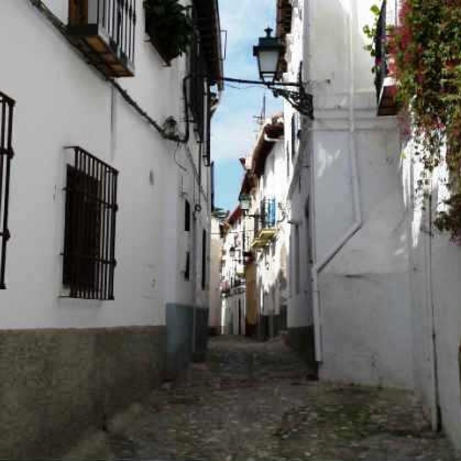 Улочки Альбайсина. Гранада