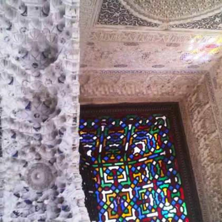 Свод Балкона Линдарахи. Альгамбра