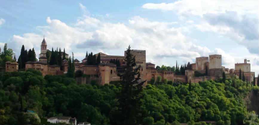 Альгамбра Гранада Испания
