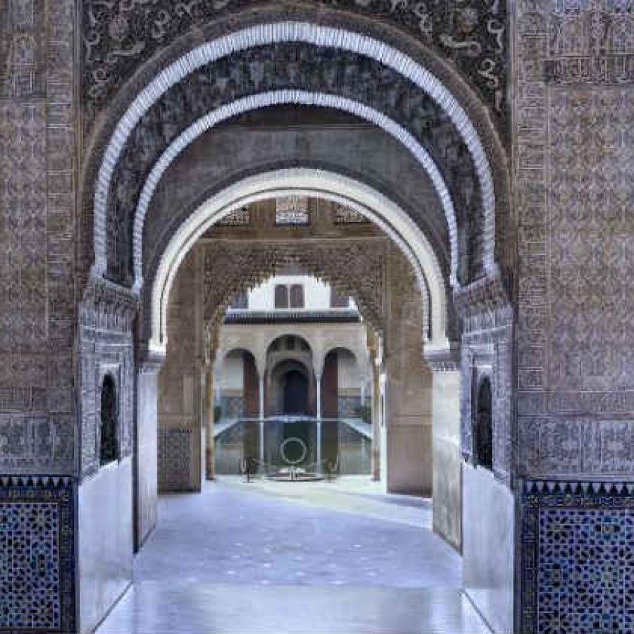 Зал Послов Альгамбра