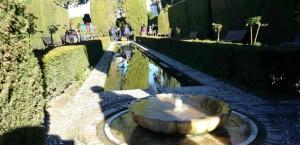 Сады Хенералифе. Альгамбра. Гранада