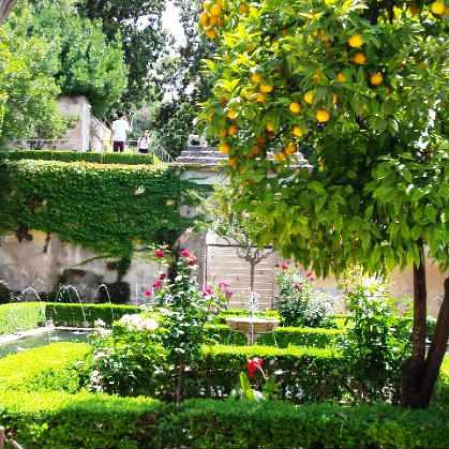 Патио Султанши. Альгамбра