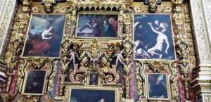 Фрагмент ретабло Кафедрального Собора Гранады