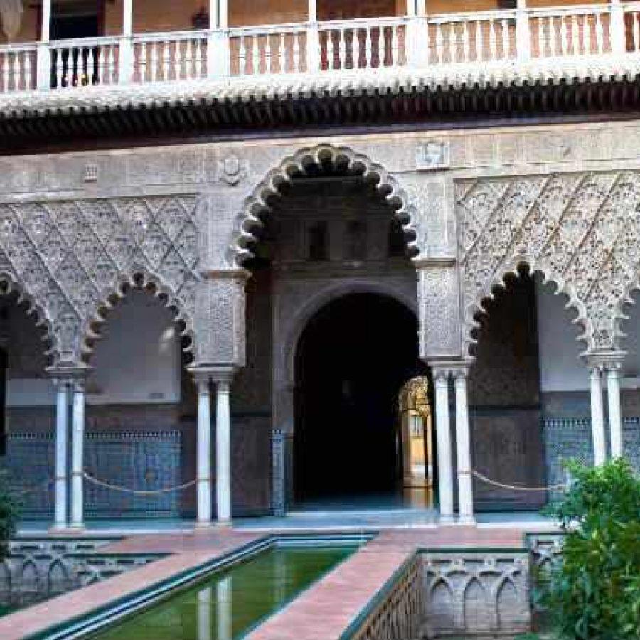 Зал в Севильском Алькасаре