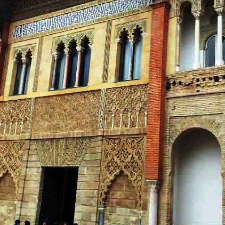Фасад Севильского Алькасара