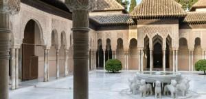 Внутренний дворик Львов. Альгамбра