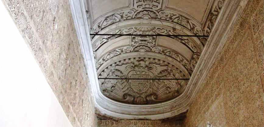 Свод в зале Мокарабес на Альгамбре