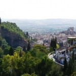 Вид на город. Гранада