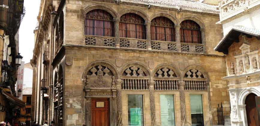 Ла Лонха. Вход в Королевскую Капеллу Гранады