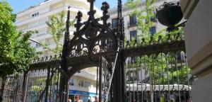 Переход с улицы Гран Виа де Колон в Гранаде