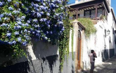 Улицы Альбайсина в Гранаде